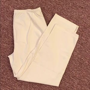 Eileen Fisher white ankle pants size PS